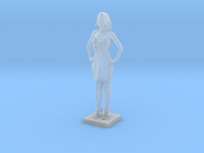 Printle C Femme 025 - 1/56 in Smooth Fine Detail Plastic