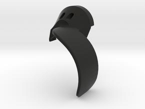 Boosted Fender [Set part 2 of 4] Rear-LEFT-V2.0 in Black Natural Versatile Plastic
