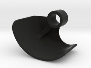 Boosted Fender [Set part 4 of 4] Front-LEFT-V2.0 in Black Natural Versatile Plastic