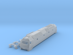 DSB Me Locomotive TT scale in Smooth Fine Detail Plastic