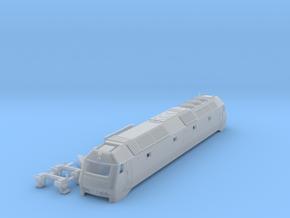 DSB Me Locomotive TT scale in Smooth Fine Detail Plastic
