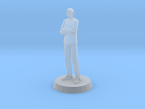 Man - Standing in Smooth Fine Detail Plastic