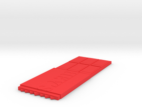 Hershey's Bar in Red Processed Versatile Plastic
