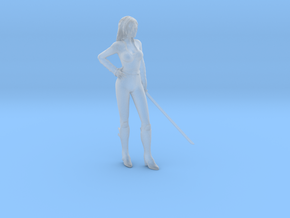 1/20 Sword Lady in Smooth Fine Detail Plastic