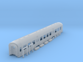 DSB Bn car TT scale in Smooth Fine Detail Plastic