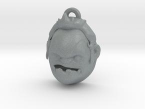 Pudge head DOTA 2 pendant in Polished Metallic Plastic