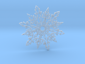 Snow_flake in Smooth Fine Detail Plastic