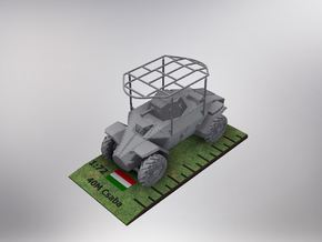 1/72nd scale 40M Csaba armoured car (commander) in Smooth Fine Detail Plastic