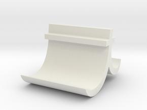 T Business card holder in White Natural Versatile Plastic