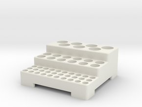Tool holder in White Natural Versatile Plastic