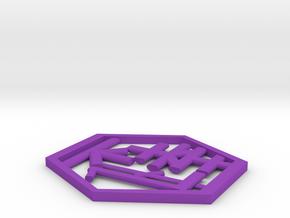 106102344 J.J.X Coaster in Purple Processed Versatile Plastic