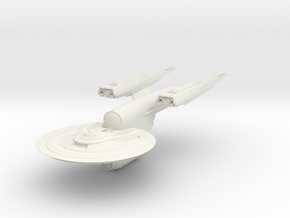 Federation SouthHampton Class V  HvyFrigate in White Natural Versatile Plastic