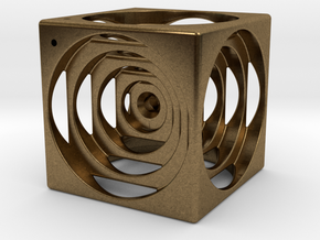think outside the cube in Natural Bronze