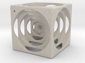 think outside the cube in Natural Sandstone