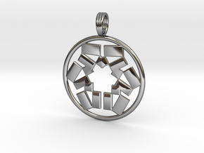 PYTHAGORIZED in Fine Detail Polished Silver