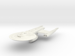 Federation Hood Class IV  HvyDestroyer in White Natural Versatile Plastic