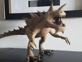 Tarrasque  in White Natural Versatile Plastic