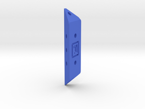 DIY Frebird Puzzle PPN-Single joint GAMMA 30 in Blue Processed Versatile Plastic
