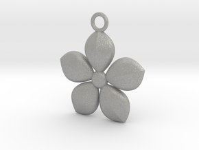 Plant necklace in Aluminum