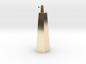 Shampoo in 14k Gold Plated Brass