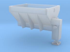 Salt Spreader, fits CMW dump truck in Smooth Fine Detail Plastic