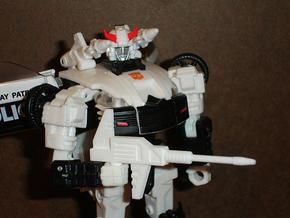 Sunlink - Datsun v4 Gun in White Strong & Flexible