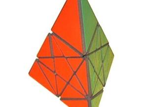 Krystian's Pyramid in White Natural Versatile Plastic