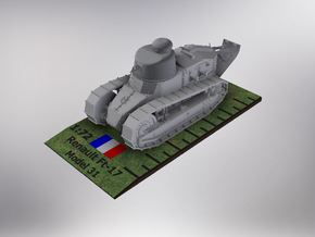 1/72nd scale Renault Ft- 17 Char Model 31 in Frosted Ultra Detail