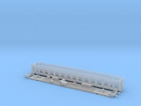 #125A - 22-80 000 TT Wagenkasten+Untergestell in Smooth Fine Detail Plastic