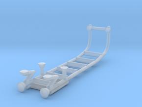 1/87 rear body ladder 3 in Smooth Fine Detail Plastic