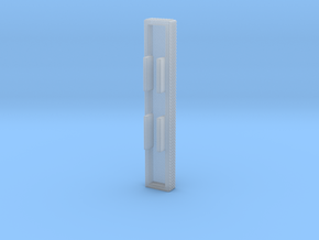 "1/87 single arm Ladder Rack ""simulated"" in Smooth Fine Detail Plastic"