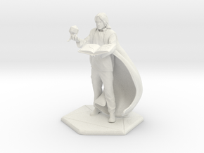 Matt Mercer 4 Inch in White Natural Versatile Plastic
