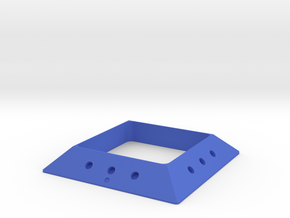 DIY Square magnetic joint GAMMA 30 (Positive) in Blue Processed Versatile Plastic