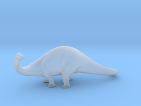 Apatosaurus in Smooth Fine Detail Plastic