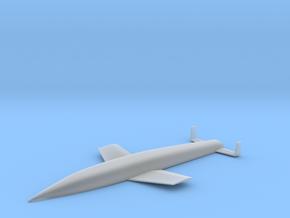 (1:350) Sanger Silbervogel (Amerika Bomber) in Smooth Fine Detail Plastic