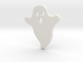 DIY Frebird Fridge Magnet - Midi Ghost (Positive) in White Natural Versatile Plastic