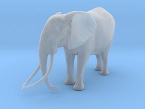 African Bush Elephant 1:22 Tusker Bull Satao in Smooth Fine Detail Plastic