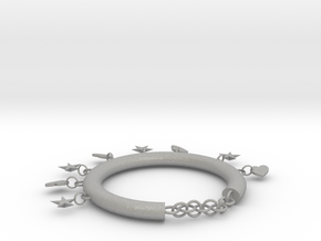 Foot chains in Aluminum
