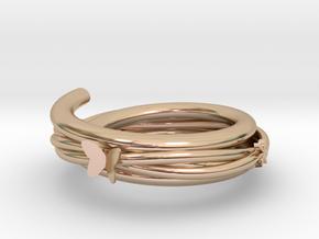 vine bracelet in 14k Rose Gold: Small