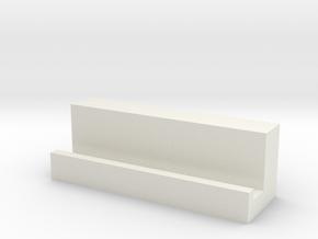 手機架 in White Natural Versatile Plastic: Small