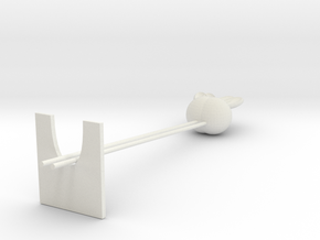 chopsticks in White Natural Versatile Plastic: Medium