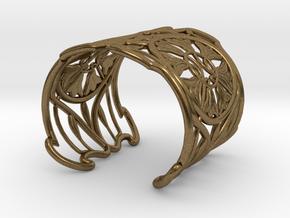 "Bracelet ""Jolie"" in Natural Bronze: Small"