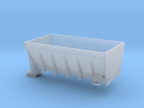 1/64th Large Skid Sander body for dump truck in Smooth Fine Detail Plastic
