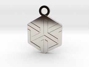 House of Ishida Charm in Platinum