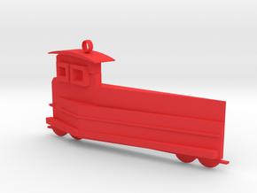 Alishan train in Red Processed Versatile Plastic
