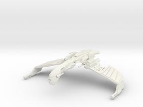Romulan Verdor Class  WarBird in White Natural Versatile Plastic
