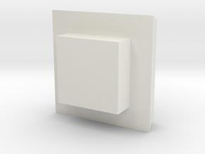 DVB_Schienenschleifwagen_Lueftung_Haube in White Natural Versatile Plastic