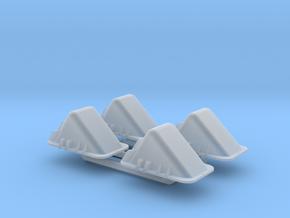 Tank Track Chocks MSP35-071 in Smooth Fine Detail Plastic: 1:35