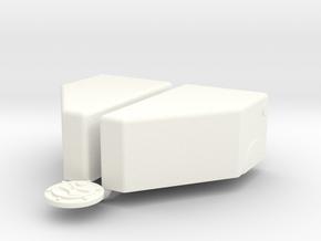 1/8 Jaz 8gal 17 14 10p25 Pro Mod in White Processed Versatile Plastic