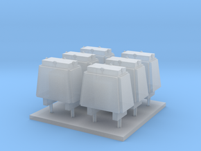 Navy Stealth Ammo Box in 1/96 Scale in Smooth Fine Detail Plastic